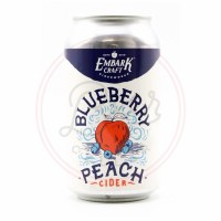 Blueberry Peach Cider - 12oz