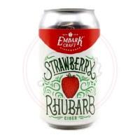 Strawberry Rhubarb - 12oz Can
