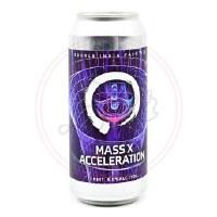 Mass X Acceleration - 16oz Can