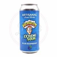 Extreme Sour: Blue Raspberry