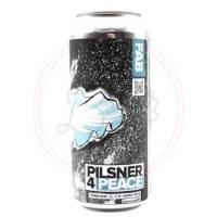 Pilsner 4 Peace - 16oz Can