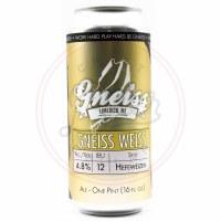 Gneiss Weiss - 16oz Can