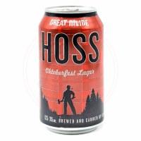 Hoss - 12oz Can