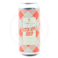 Dutch Apple Crisp - 16oz Can