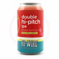 Double Hi-pitch - 16oz Can