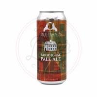 Idle Hands Farmhouse Pale Ale