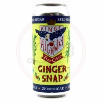 Ginger Snap - 16oz Can