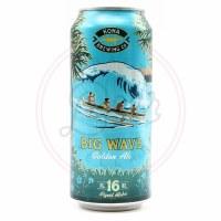 Big Wave Golden Ale - 16oz Can
