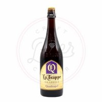 La Trappe Quadrupel - 750ml