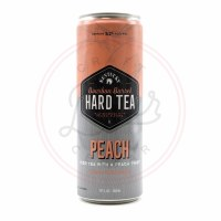Bourbon Barrel Hard Tea Peach