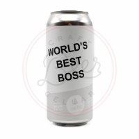 World's Best Boss - 16oz Can
