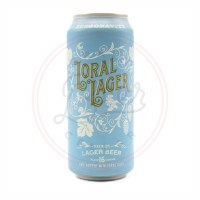 Loral Lager - 16oz Can
