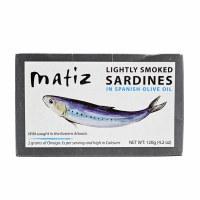 Lightly Smoked Sardines
