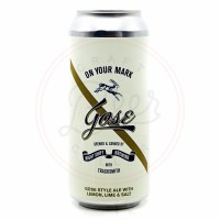On Your Mark...Gose - 16oz Can