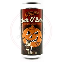 Jack O' Latte - 16oz Can