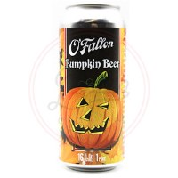 O'fallon Pumpkin Beer - 16oz