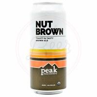 Peak Nut Brown - 16oz Can