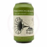 Harvest Cider - 12oz Can