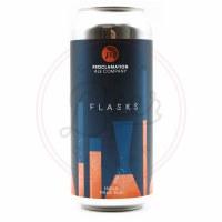 Flasks - 16oz Can