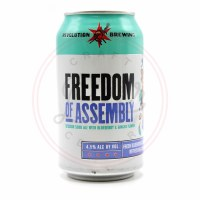 Freedom Of Assembly - 12oz Can