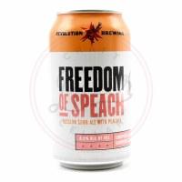 Freedom Of Speach - 12oz Can