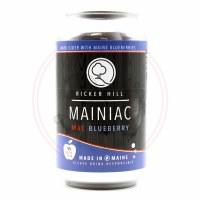 Mainiac Mac Blueberry Cider