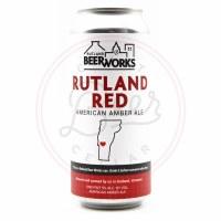 Rutland Red - 16oz Can