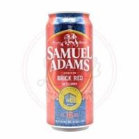Samuel Adams Brick Red - 16oz