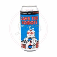 Save The Robots - 16oz Can