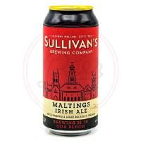 Maltings Irish Ale - 440ml Can