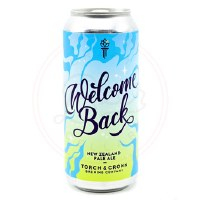 Welcome Back - 16oz Can