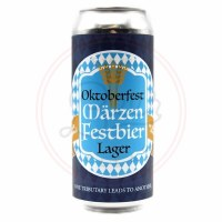 Oktoberfest Lager - 16oz Can