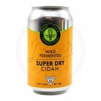 Super Dry Cidah - 12oz Can