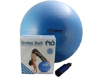 65cm Gym Ball & Pump