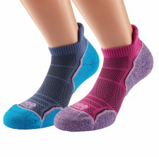 1000 Mile Run Socklet Twin Pack