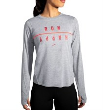 Brooks Distance Graphic Long Sleeve