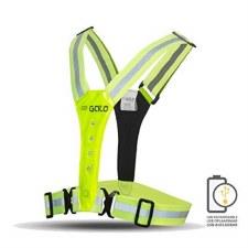 Gato LED USB Sport Vest Yellow