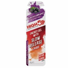 High 5 Energy Gel with Slow Release Carbs Blackcurrant