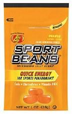 Sports Beans Portable Power Orange