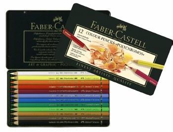 Faber Polychromos Pencils 12's