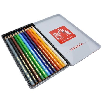 Caran D'Ache Watercolours 12's