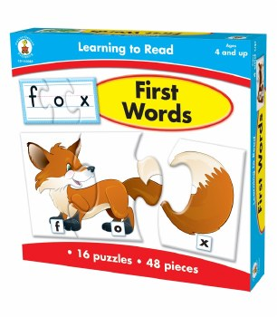 First Words Puzzle