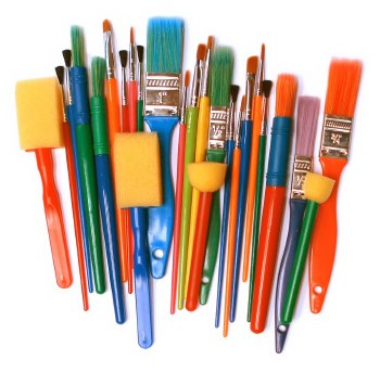 Brush and Dabber Pack of 25
