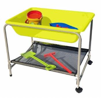Sand/Water Bath & Stand Yellow