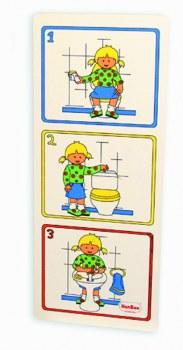 Hygiene In Toilet (Girl)