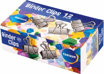 Binder Clips 25mm (12)