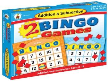 Bingo Game Add & Subtract