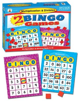 Bingo Game Multiply & Divide