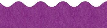 Scalloped Trim - Purple
