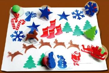 Christmas Stamper Set